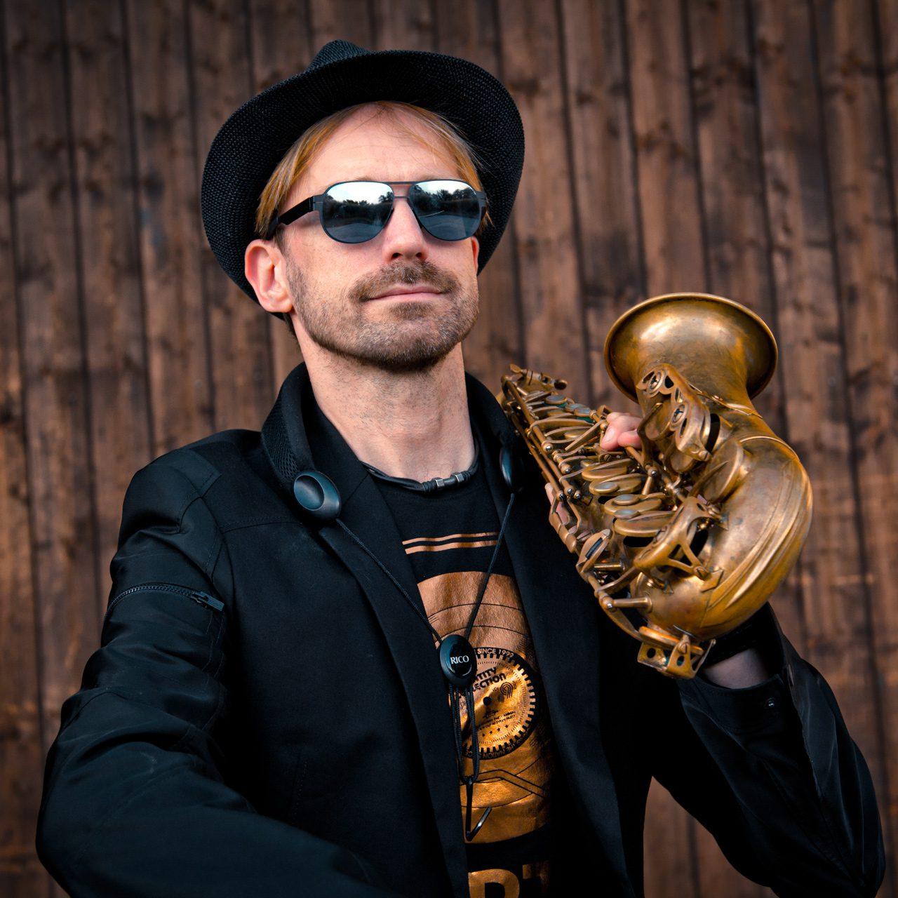 Saxophonist Mister Sax Paderborn