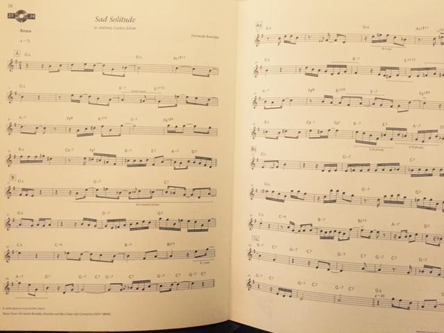 Neues Songbook entdeckt mit tollen Latin Styles
