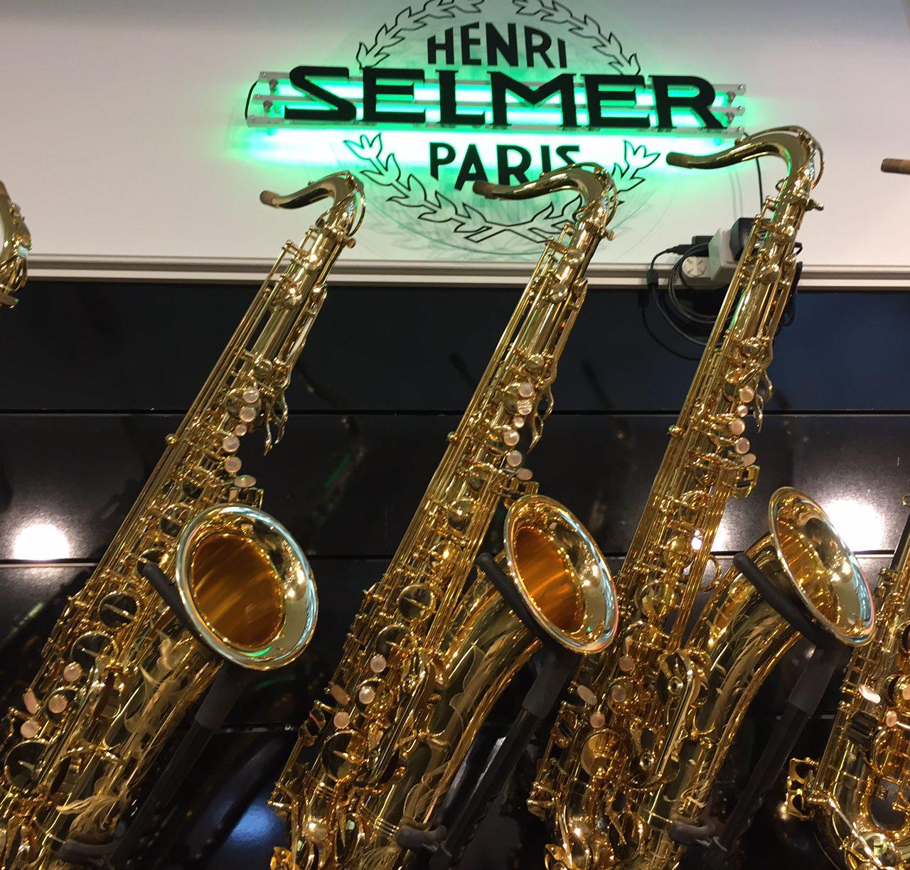 Neue Selmer Saxophone in Köln getestet