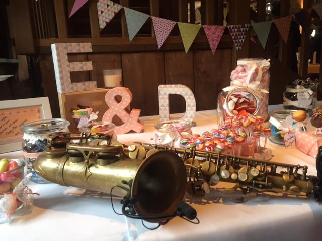 Süßer Trend: Candy Bar auf Hochzeit
