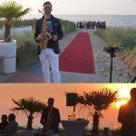 Trauung mit Saxophon  – Hochzeit – Hövelsenner Kapelle