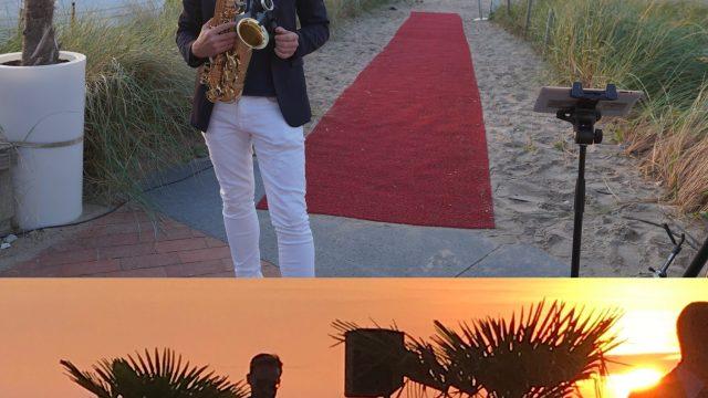 Saxophon – Hochzeit am Meer