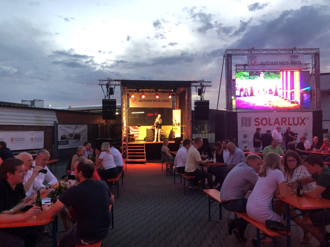 Sponsorenabend mit Mister SAX in Osnabrück